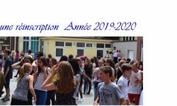 reinscription 2019-2020